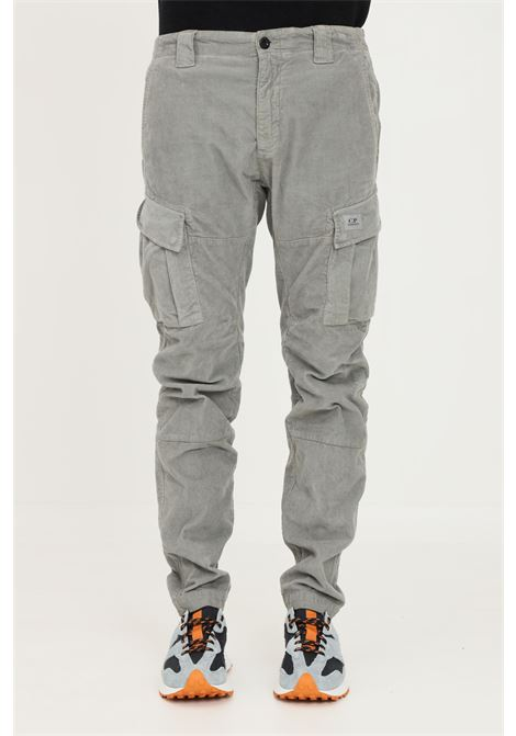 Green men's trousers by cp company, ribbed model C.P. COMPANY | Pants | 11CMPA295A-005899O917