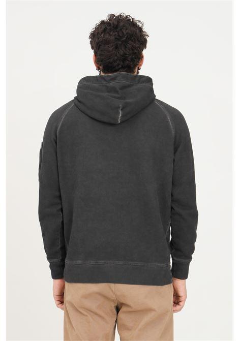 Dark grey men's hoodie by cp company C.P. COMPANY | Sweatshirt | 11CMSS291A-006090S999