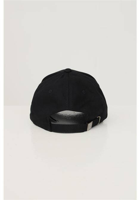 Black unisex cap by daily paper with logo embroidery on the front DAILY PAPER | Hat | 2111051BLACK