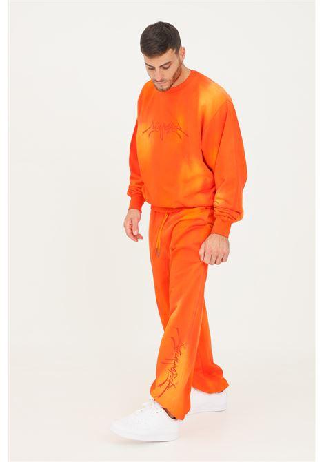 Pantaloni uomo arancio daily paper casual con elastico in vita DAILY PAPER | Pantaloni | 2121025WASHED ORANGE