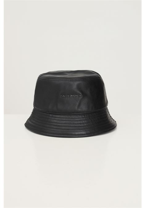 Black unisex bucket by daily paper with logo application on the front DAILY PAPER | Hat | 2121118BLACK
