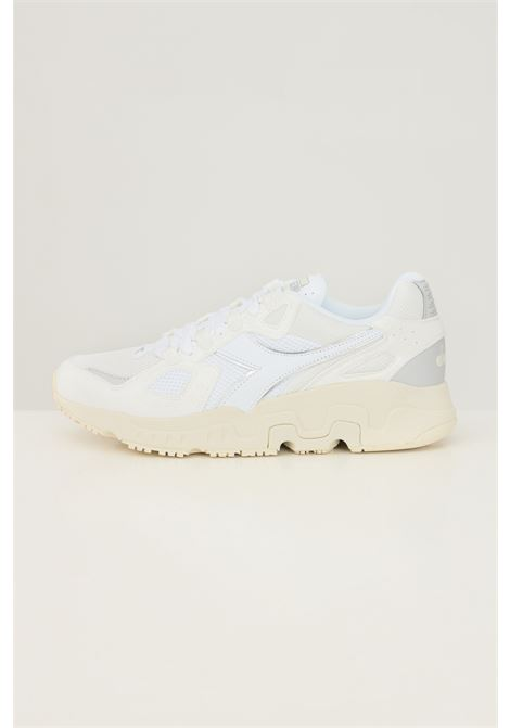 White men's mythos suede sneakers by diadora DIADORA   Sneakers   501.176722C8976