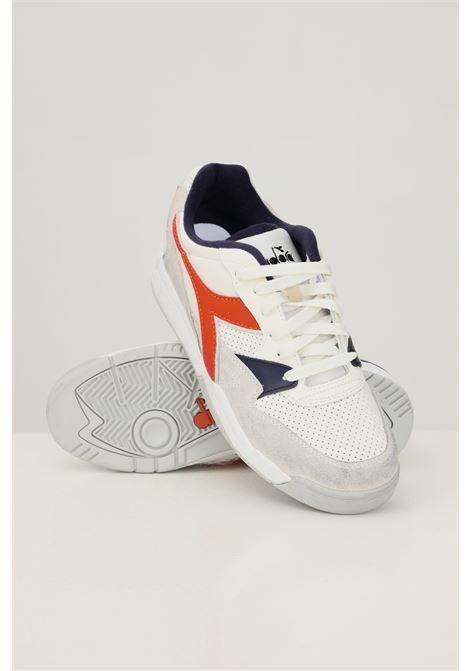 Multicolor men's rebound ace wax sneakers by diadora  DIADORA   Sneakers   501.177356C9527