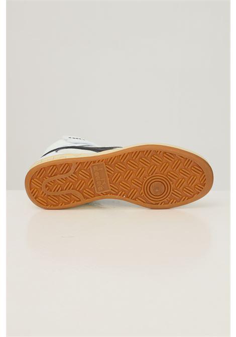 White men's magic basket mid icona sneakers by diadora boot model DIADORA   Sneakers   501.177728C0351