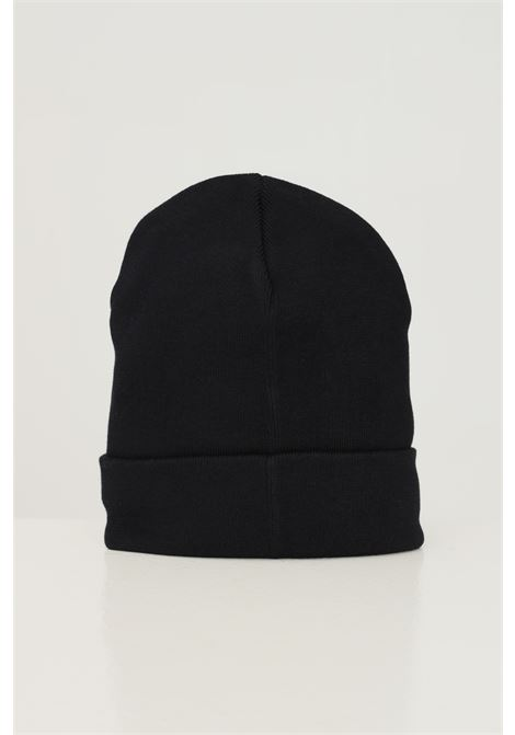 Black unisex hat by disclaimer with front logo embroidery in contrast DISCLAIMER | Hat | 21IDS50920NERO