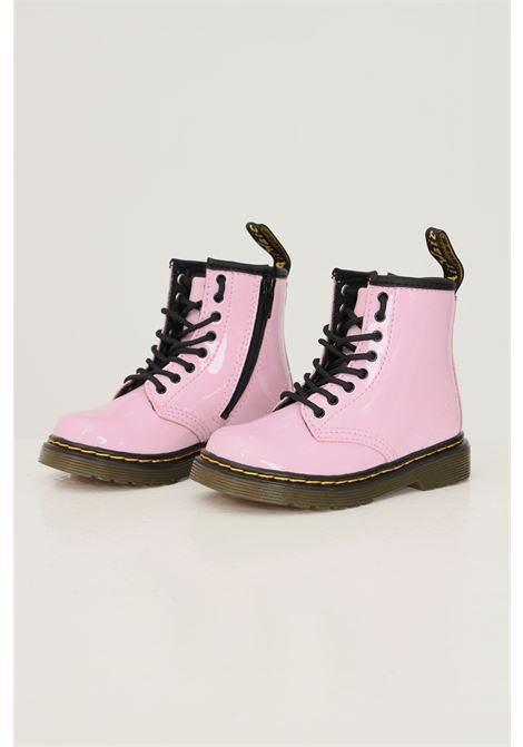 Baby 1460 J pale pink patent lamper boots by dr martens DR.MARTENS | Ankle boots | 266013221460