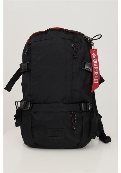 Black unisex floid backpack by eastpak for alpha industries  EASTPAK | Backpack | EK0000201L421L421