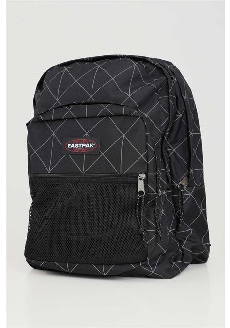 Black unisex backpack with contrasting geometric print eastpak EASTPAK | Backpack | EK000060L261L261