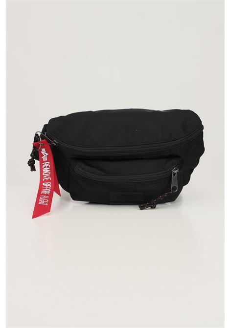 Black unisex pouch by eastpak with double zip EASTPAK | Pouch | EK000073L421L421