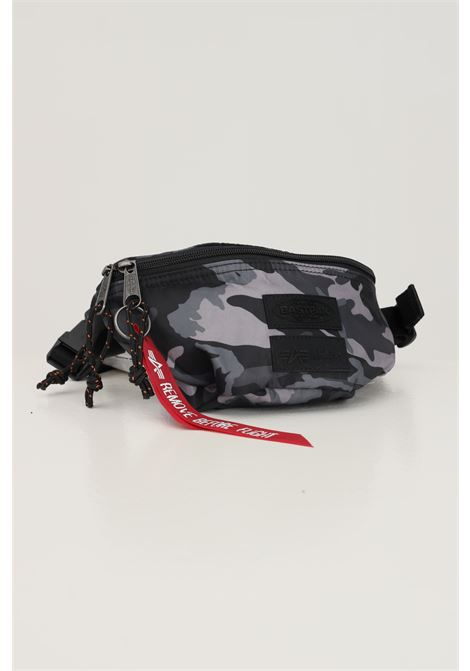 Camou unisex pouch by eastpak with zip EASTPAK | Pouch | EK000074L351L351