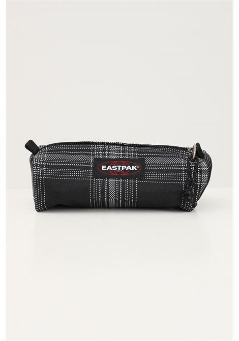 Black unisex case by eastpak with contrasting embroidery EASTPAK |  | EK000372K381K381