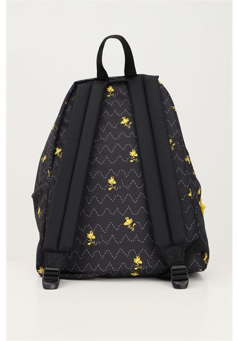 Black unisex padded pak r backpack by eastpak with allover peanuts print EASTPAK | Backpack | EK000620K551K551