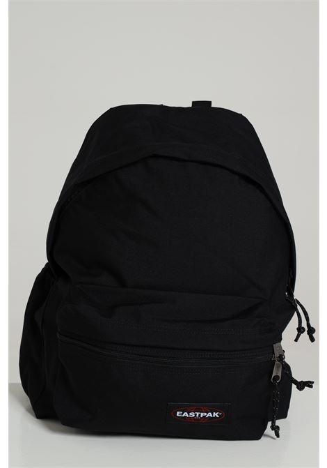 Black backpack in solid color with contrasting logo, zip closure and adjustable shoulder straps. Eastpak EASTPAK | Backpack | EK0A5B7400810081