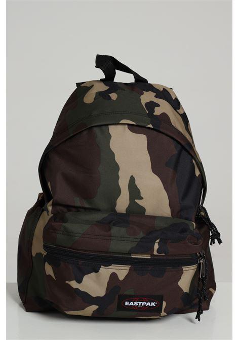 Military green backpak with contrasting logo, zip closure and adjustable shoulder straps. Eastpak EASTPAK | Backpack | EK0A5B7418111811