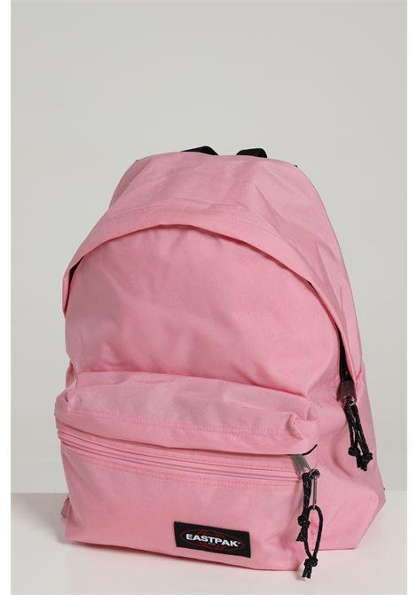 Pink backpack in solid color with contrasting logo, zip closure and adjustable shoulder straps. Eastpak EASTPAK | Backpack | EK0A5B74B56CRYSTAL PINK
