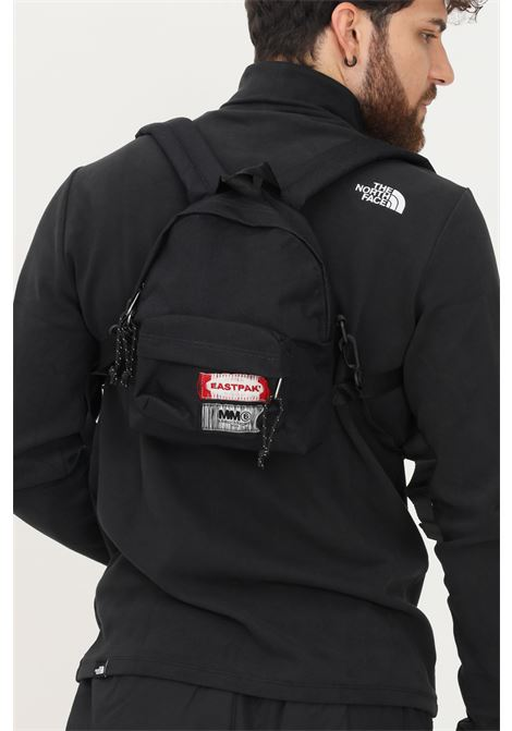 Black unisex backpack by eastpak maison margiela collab EASTPAK  X MM6 MARGIELA | Backpack | EK0A5BAUQ761Q761