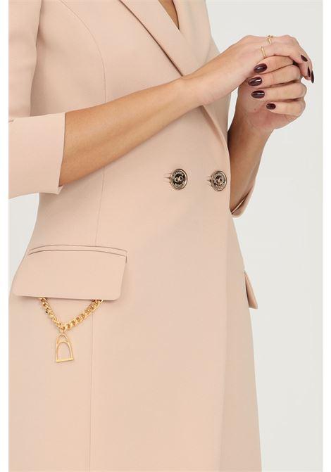 Abito giacca cappuccino con accessorio staffa elisabetta franchi ELISABETTA FRANCHI | Abiti | AB07716E2043