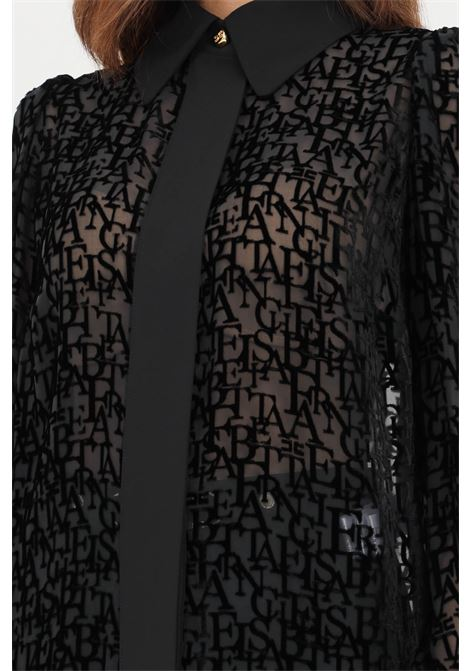 Camicia donna nero elisabetta franchi elegante ELISABETTA FRANCHI   Camicie   CA30516E2110