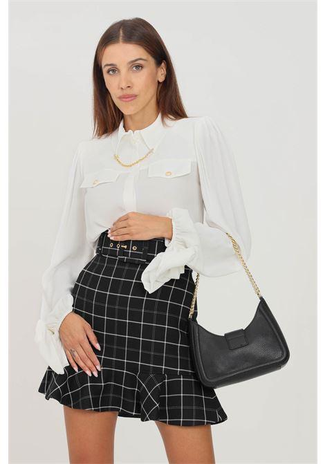 Camicia donna avorio elisabetta franchi elegante ELISABETTA FRANCHI | Camicie | CA32216E2360