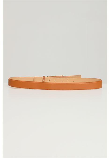 Cintura donna cuoio elisabetta franchi con fibbia gold ELISABETTA FRANCHI | Cinture | CT13S16E2600