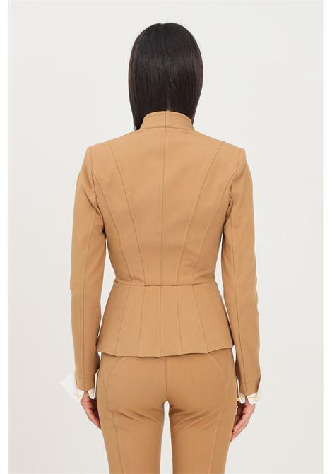 Mou women's jacket by elisabetta franchi tight fit with single button ELISABETTA FRANCHI | Blazer | GI00716E2368