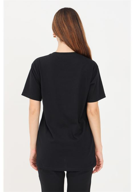 T-shirt donna nero elisabetta franchi con logo impunturato ELISABETTA FRANCHI | T-shirt | MA20416E2110