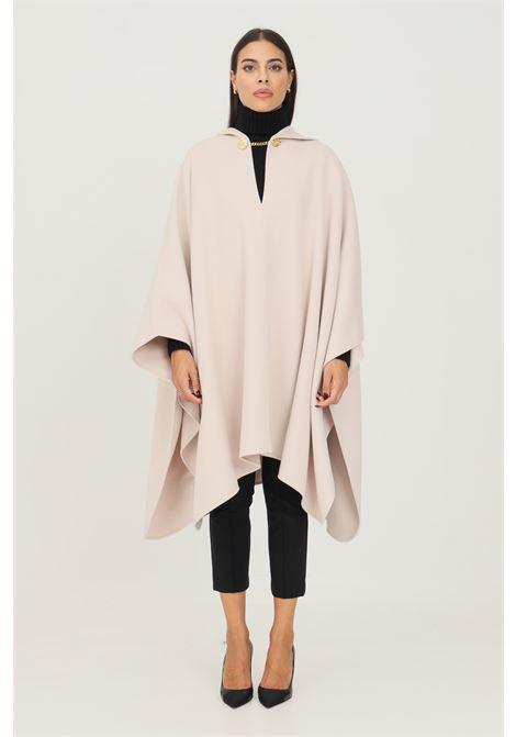 Poncho polvere Elisabetta Franchi con cappuccio da donna ELISABETTA FRANCHI | Mantelle | MT04W16E2686