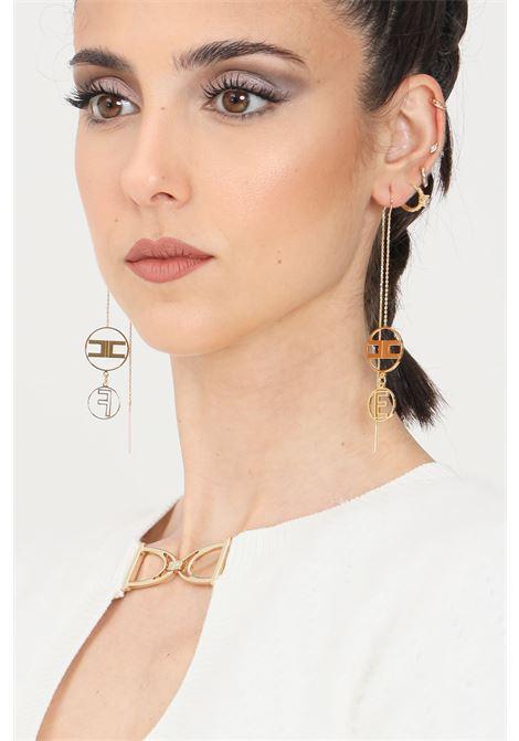 Orecchini donna color oro elisabetta franchi ELISABETTA FRANCHI | Bijoux | OR01A16E2610