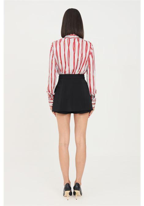 Black women's shorts by elisabetta franchi elegant model ELISABETTA FRANCHI | Shorts | SH00116E2110