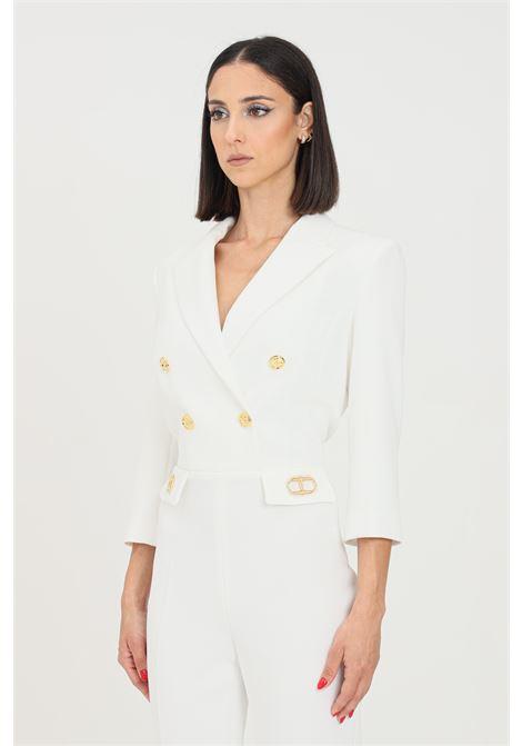 Ivory full suit by elisabetta franchi elegant model ELISABETTA FRANCHI | Suit | TU26316E2360