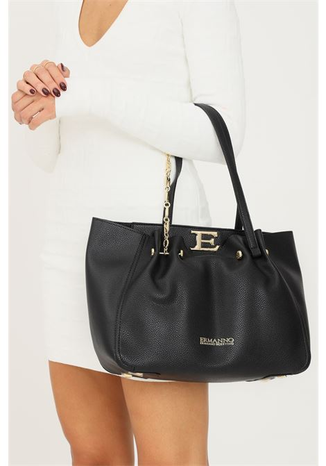 Black women's bag by ermanno scervino with fixed handles Ermanno scervino | Bag | 12401236293