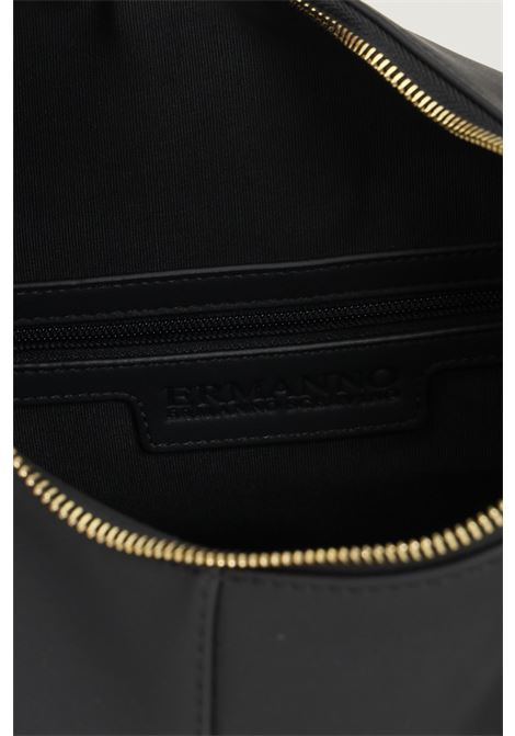Black women's bag by ermanno scervino with braided handle Ermanno scervino | Bag | 12401250293