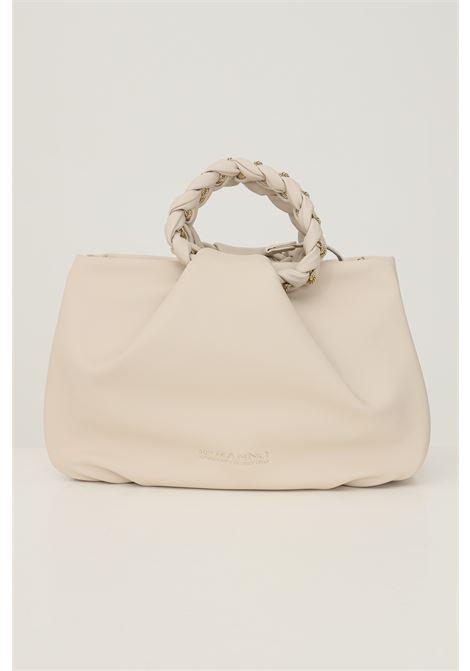 Cream women's bag by ermanno scervino with adjustable and removable shoulder strap Ermanno scervino | Bag | 124012532609
