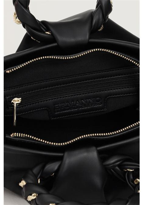 Black women's bag by ermanno scervino with adjustable and removable shoulder strap Ermanno scervino | Bag | 12401253293