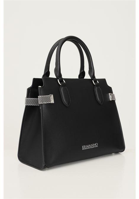 Black women's bag by ermanno scervino with removable fabric shoulder strap Ermanno scervino | Bag | 12401279293