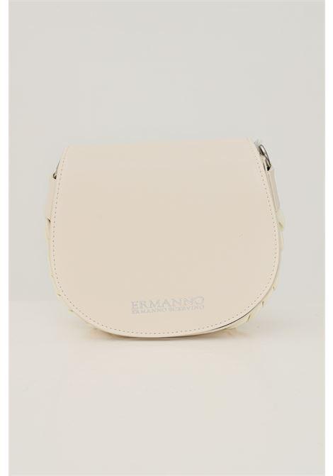 Cream women's bag by ermanno scervino with adjustable and removable shoulder strap Ermanno scervino | Bag | 124012831723