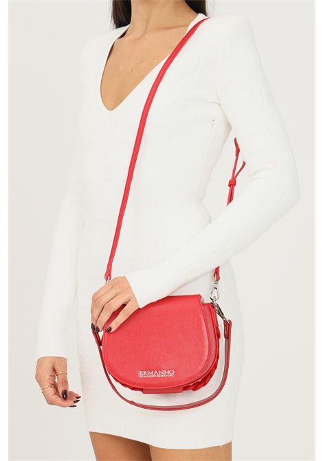 Red women's bag by ermanno scervino with adjustable and removable shoulder strap Ermanno scervino | Bag | 12401283333