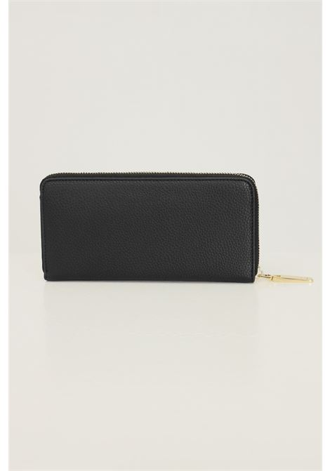 Black women's wallet by ermanno scervino with gold logo Ermanno scervino | Wallet | 126000263293