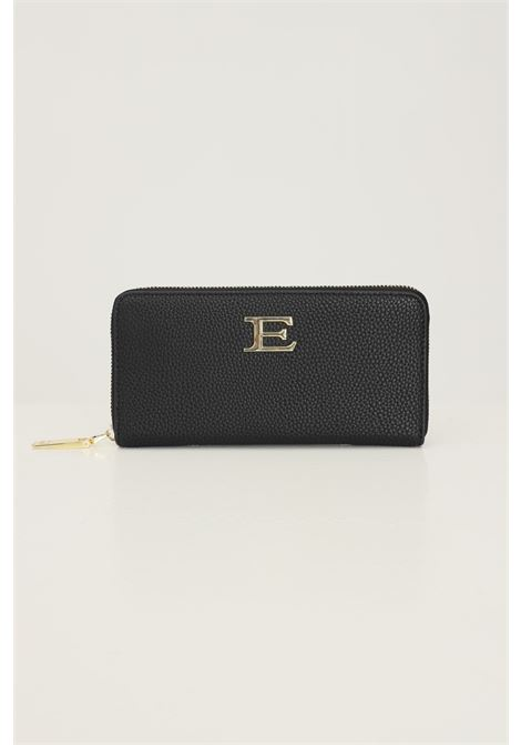 Black women's wallet by ermanno scervino with gold application on the front Ermanno scervino | Wallet | 12600259293