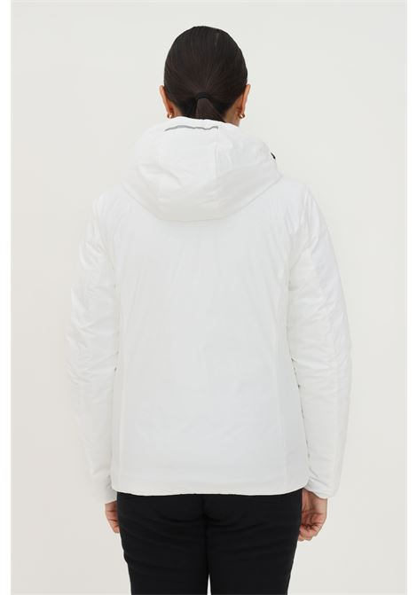 White women's down jacket by f**k with hood F**K   Jacket   AZZORRE222001BI