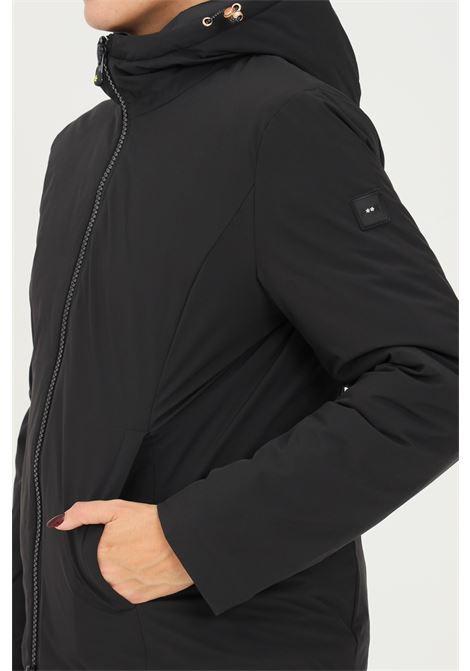 Black women's down jacket by f**k with hood F**K   Jacket   AZZORRE222999NE