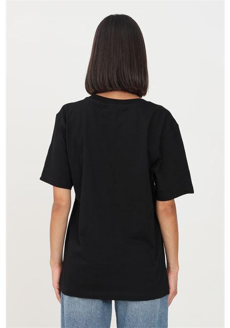T-shirt donna nero gaelle a manica corta con logo frontale GAELLE   T-shirt   GBD10158NERO