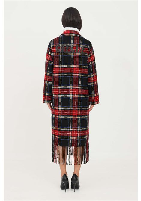 Multicolor women's coat long cut GAELLE | Coat | GBD9818NERO