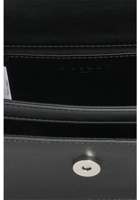 Borsa donna nero gaelle con tracolla in tessuto e catena GAELLE | Borse | GBDA2607NERO