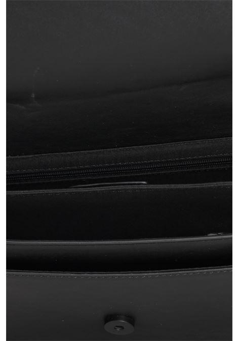 Borsa donna nero gaelle in ecopelle con logo in rilievo GAELLE | Borse | GBDA2654NERO
