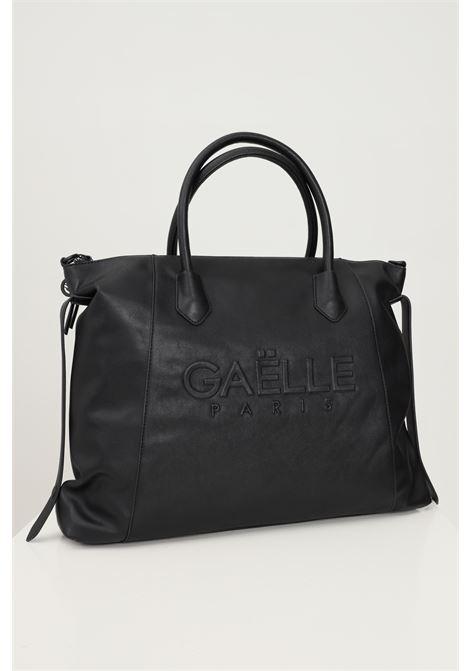 Shopper donna nero gaelle con manici e tracolla removibile GAELLE | Borse | GBDA2661NERO