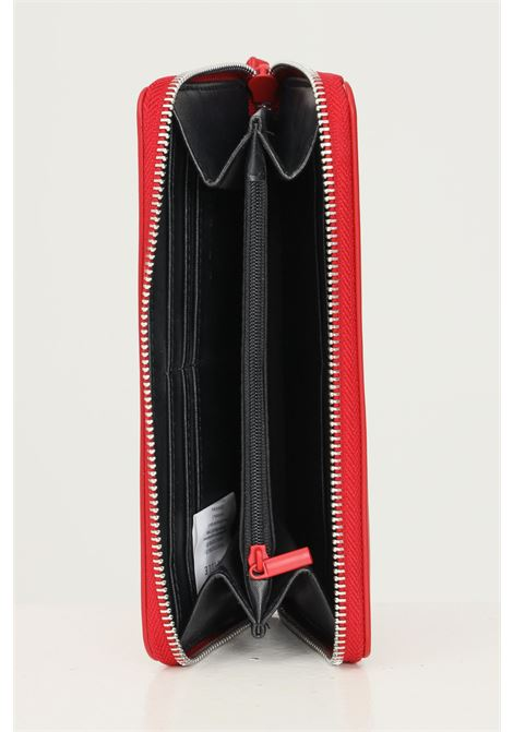 Portafogli donna rosso gaelle con logo tono su tono in rilievo GAELLE | Portafogli | GBDA2663ROSSO