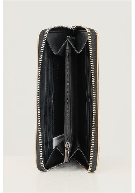 Portafogli donna oro nero gaelle con applicazione logo frontale GAELLE | Portafogli | GBDA2703NERO/ORO
