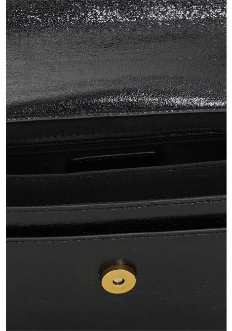 Borsa donna nero gaelle con tracolla in catena e tessuto GAELLE | Borse | GBDA2762NERO