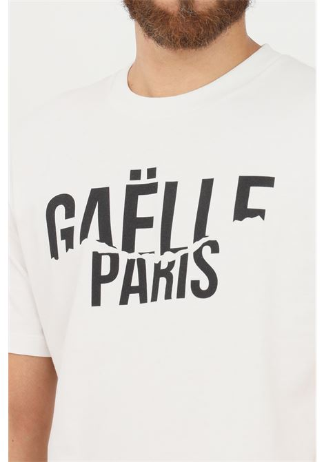 T-shirt uomo bianco gaelle a manica corta GAELLE | T-shirt | GBU4950BIANCO